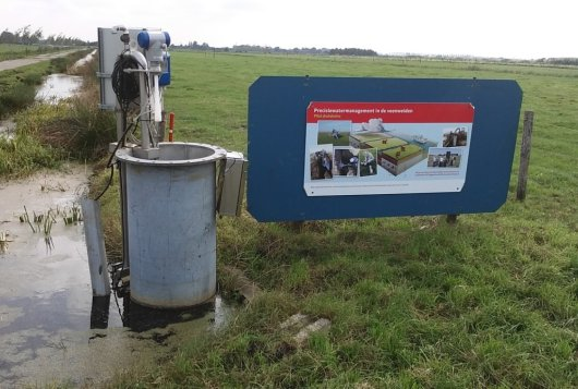 Precisiewatermanagement met onderwaterdrains en putbemaling